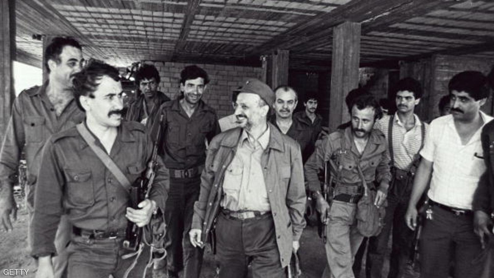 (FILES) Palestinian leader Yasser Arafat